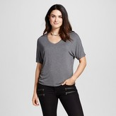 Mossimo Women's Short Sleeve Knit Dolman Tee