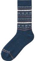 Uniqlo Women Socks (Fair Isle)