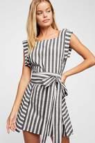 The Endless Summer Ojai Wrap Mini Dress