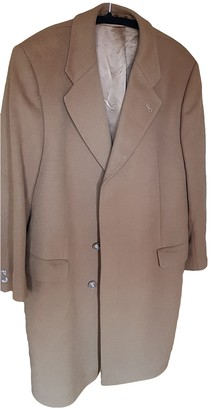 Non Signé / Unsigned Non Signe / Unsigned Camel Wool Coats