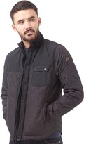 Duck and Cover Mens Radius Quilted Jacket Black