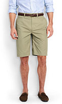 "Lands' End Men's Traditional Fit 11"" Lightweight Casual Chino Shorts-Lunar Navy"