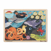 Melissa & Doug Endangered Species Floor Puzzle 48-Pc.