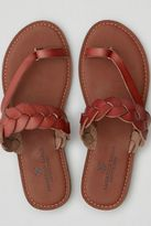 American Eagle Outfitters AE Braided Toe Ring Sandal