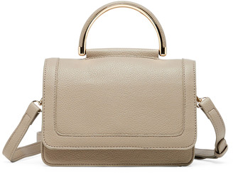 Sole Society Women's Evar Small Satchel Vegan Leather Satchel In Color: Blush Bag From