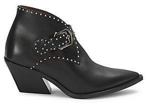 Givenchy Women's Elegant Studded Leather Western Boots