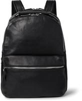 Shinola The Runwell Full-grain Leather Backpack