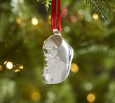 Pottery Barn 2016 Dated Baby's First Christmas Boot Ornament