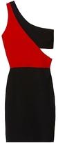 Kylie Colorblock Mini In Black/scarlet