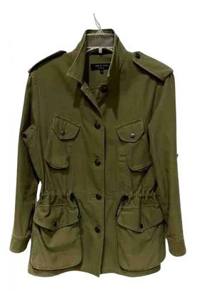 Rag & Bone Green Cotton Jackets