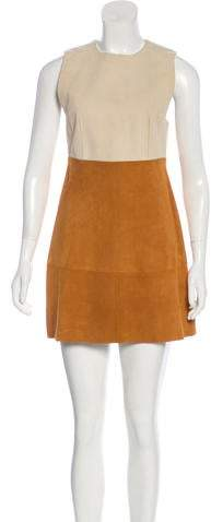 Marni Suede Mini Dress
