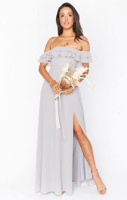 Show Me Your Mumu Emma Ruffle Maxi Dress