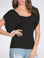 Open Back Dolman Top