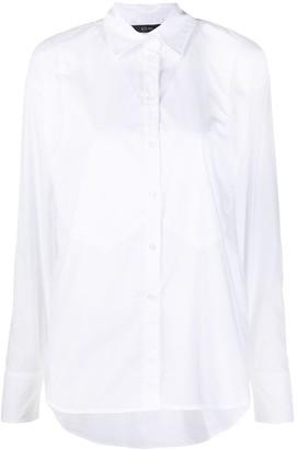 Armani Exchange Long-Sleeve Cotton Shirt