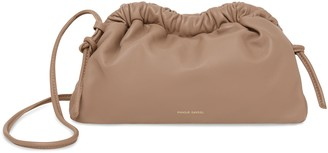 Mansur Gavriel Mini Cloud Clutch - Biscotto