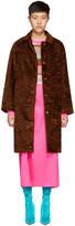 Sies Marjan Brown Ripley Coat