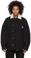 Carhartt Work In Progress Black Fairmount Coat