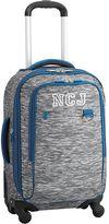 Getaway Luggage Grey Static Carry-On Spinner, Grey/Blue