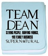 CafePress - Team Dean Supernatural Winchester - Baby Blanket, Super Soft Newborn Swaddle
