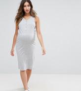 Mama Licious Mama.licious Mamalicious Maternity Nursing Midi Dress
