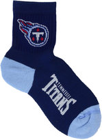 For Bare Feet Tennessee Titans Ankle TC 501 Med Socks