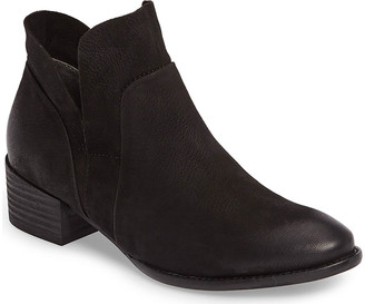 Seychelles Women's Casual boots BLACK - Black Dwelling Leather Ankle Boot - Women