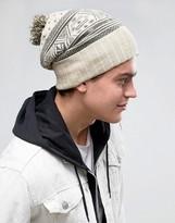 Volcom Sweater Beanie In Grey