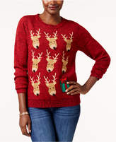 Karen Scott Petite Reindeer Sweater, Created for Macy's
