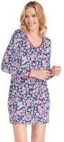 Jockey Women's Pajamas: Paisley Print Long Sleeve Sleep Shirt
