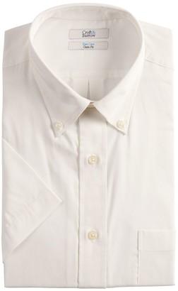 Croft & Barrow Men's Classic-Fit Easy-Care Short-Sleeved Button-Down Collar Dress Shirt