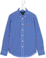Ralph Lauren button-down collar shirt - kids - Cotton - 4 yrs