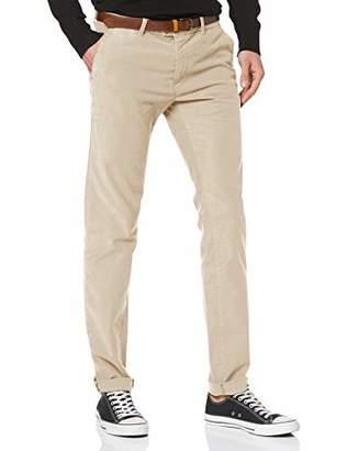 Scotch & Soda Men's Mott-Classic Garment-Dyed Twill Chino Trouser,W34/L36 (Size: 34/36)