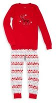 Petit Lem Unisex Two-Piece Holiday Pajama Set