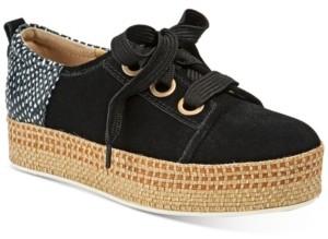 Lucca Lane Ladue Flatform Lace-up Sneakers Women's Shoes