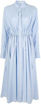 Jason Wu Tie-Waist Shirt Dress