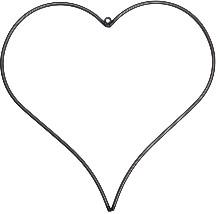 Garden Trading - Steel Hanging Heart