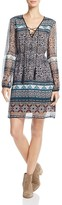 Ella Moss Jacinda Printed Silk Dress