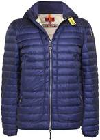 Parajumpers Alvin Quilted Jacket in Ocean M
