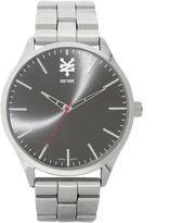 Zoo York Mens Silvertone Bracelet Watch