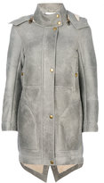 Chloé oversized shearling coat - women - Sheep Skin/Shearling - 36