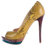 Jerome C. Rousseau Kio Embossed Pumps