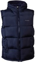 Pierre Cardin Mens New Season Padded Gilet with attached hood (XL, )