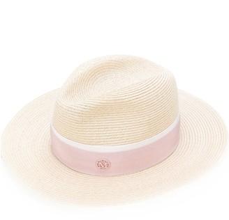 Maison Michel Straw Band Hat