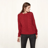 Maje Cable knit jumper