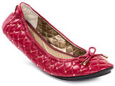 Me Too Linx Leather Quilted Flats