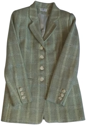 Jacques Fath Green Wool Jacket for Women Vintage