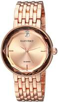 Ellen Tracy Women's Quartz Metal and Alloy Casual Watch, Color:Rose Gold-Toned (Model: ET5275RG)