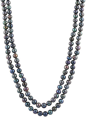 Splendid Pearls 9-10Mm Freshwater Pearl Endless Necklace