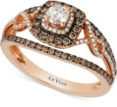 LeVian Le Vian Bridal® Diamond Engagement Ring (7/8 ct. t.w.) in 14k Rose Gold