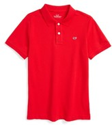 Vineyard Vines Boy's Pique Cotton Polo